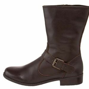 Bandolino Size 5.5 TISDALE Brown Leather New Boots